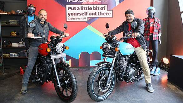 Royal Enfield Thunderbird 350X Price, Mileage and Important